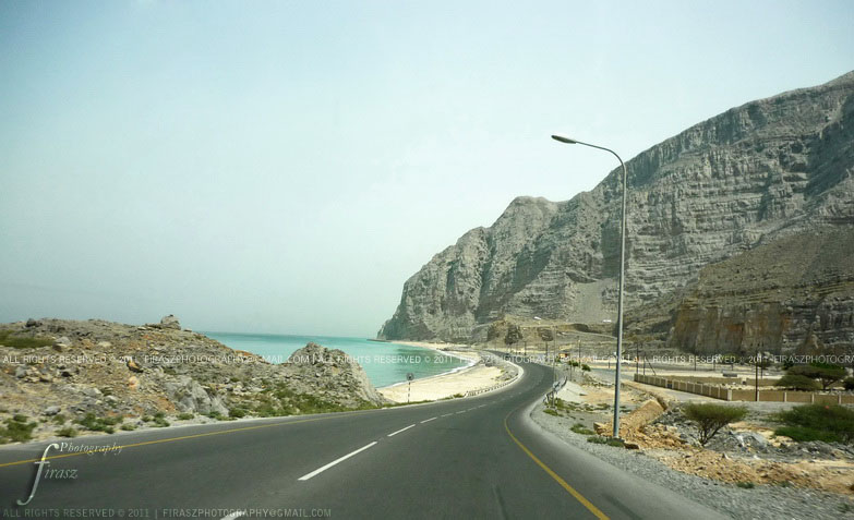 Towards Musandam peninsula