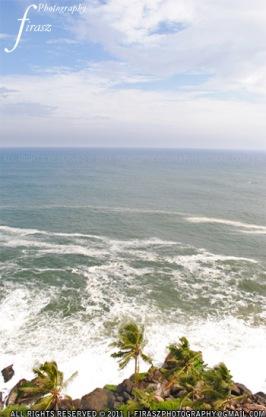 Vanishing sea line