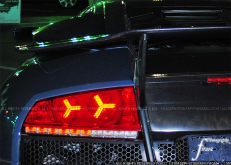 Lamborghini Murcielago LP640 tail lights