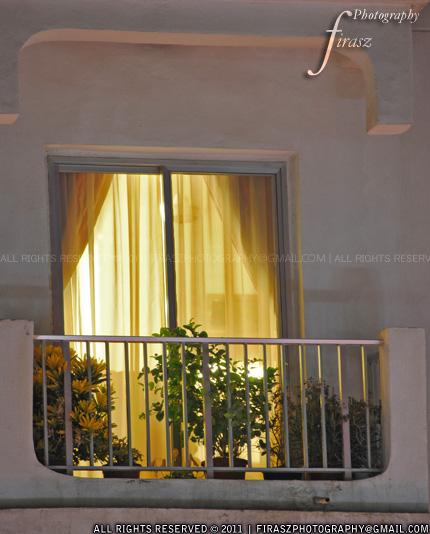 A calm balcony
