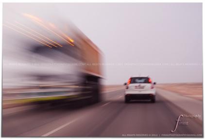 The vanishing truck