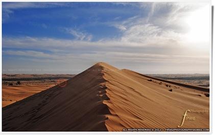 Sandhills of Al Ain