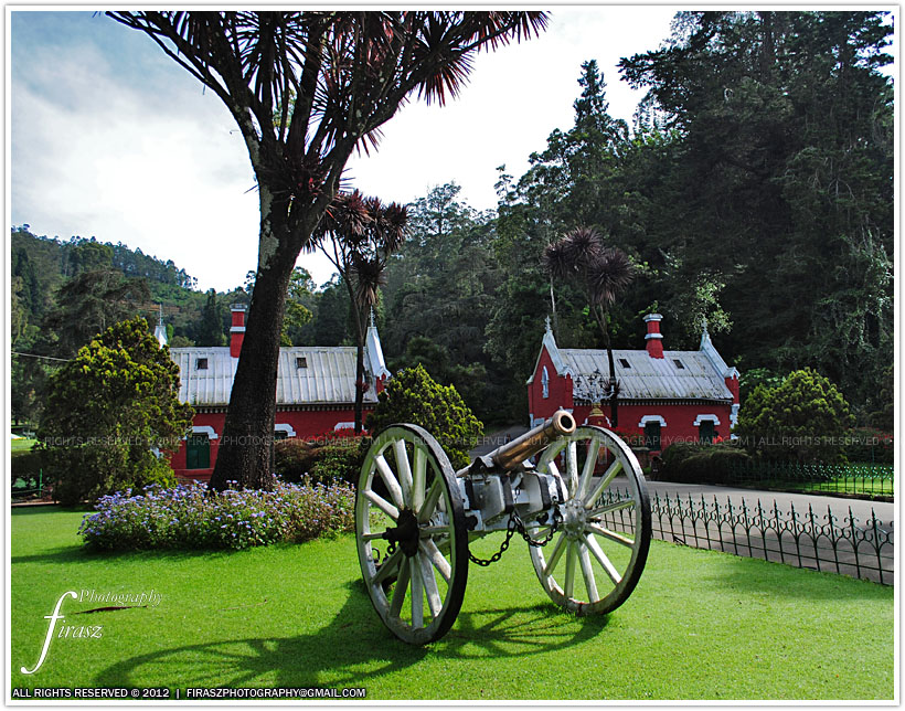 Cannon in Ooty