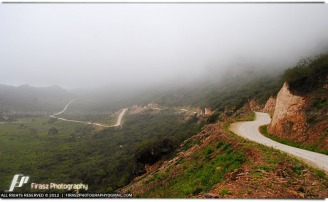 Mountain roads in Salalah