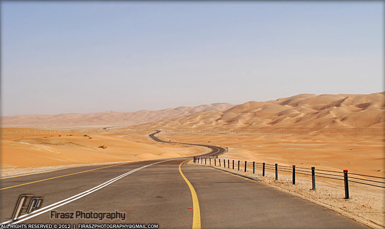 Sea of sand, Liwa, Abu Dhabi